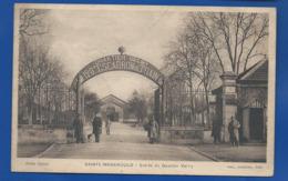 SAINTE-MENEHOULD   Entrée Du Quartier Valmy    Animées  écrite En 1938 - Sainte-Menehould