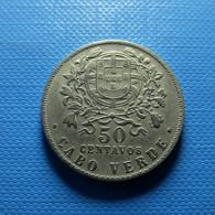 Portuguese Cabo Verde 50 Centavos 1930 - Portogallo