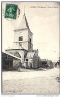 52 COUPRAY - Place De L'église - Autres Communes