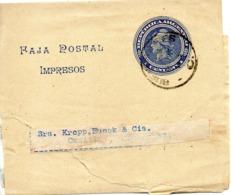 ARGENTINE. Faja Postal Impresos. 1 Centavo. - Enteros Postales