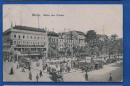 BERLIN  Unter Der Linden    Victoria Café   Animées    écrite En 1916 - Germany