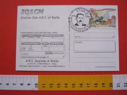 A.04 ITALIA ANNULLO - 2008 OCCHIEPPO INFERIORE BIELLA RADIO VINCENSO ROSA MENTORE DI GUGLIELMO MARCONI - Telecom
