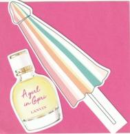 2 Cartes Nouvelles: **A Girl In Capri ** Et **  Roger & Gallet ** - Cartes Parfumées