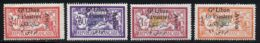 Grand Liban PA 1924 Yvert 5 / 8 * TB Charniere(s) - Gross-Libanon (1924-1945)