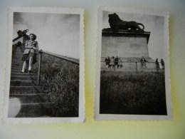 WATERLOO- 2 Photos Originales - 12 Juin 1946 - Lieux