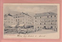OUDE POSTKAART  ZWITSERLAND - SCHWEIZ - SUISSE -   SAN BERNARDINO - HOTELS - GR Graubünden