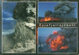 Islanda, Island, Iceland, Views Of Volcan Eyjafjallajokull Eruption 2010, Vedute Eruzione Vulcano Eyjafjallajokull 2010 - Islanda