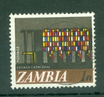 Zambia: 1968   Pictorial - Decimal Currency    SG129   1n     Used - Zambia (1965-...)