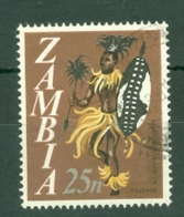 Zambia: 1968   Pictorial - Decimal Currency    SG137   25n     Used - Zambia (1965-...)