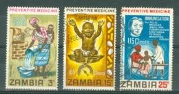 Zambia: 1970   Preventive Medicine   Used - Zambia (1965-...)