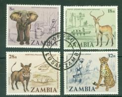 Zambia: 1978   Anti-Poaching Campaign    Used - Zambia (1965-...)
