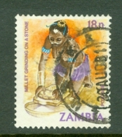Zambia: 1981/83   Pictorial    SG343   18n     Used - Zambia (1965-...)