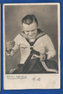 Marin Allemand  Faisant De La Couture  Animées    écrite En 1942 - Weltkrieg 1939-45