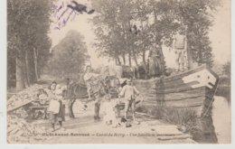 Cher SAINT AMAND MONTROND  Canal Du Berry Une Famille De Mariniers - Saint-Amand-Montrond