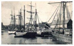 22 PAIMPOL - Goelettes Dans Le Bassin Du Commerce - Paimpol