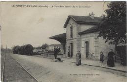 33   Le Pontet-eyrans  La Gare Des Chemins De Fer Economiques - France