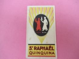 Pt Calendrier De Poche Parfumé/Royal Rubis/Doublet Paris/ Apéritif/ SAINT RAPHAEL QUINQUINA 1927  CAL448 - Calendriers
