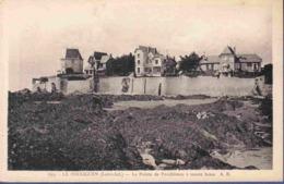 44 LE POULIGUEN La Pointe De Penchâteau à Marée Basse - Le Pouliguen