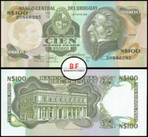 Uruguay   100 Pesos   1989   P.62Aa   UNC - Uruguay