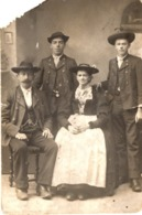 Familienfoto - Photografische Kunstanstalt A. Hierzegger Berchtesgaden Ca 1915 - Fotografie