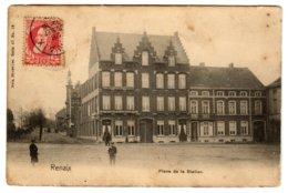 RENAIX - Place De La Station- Dos Non Divisé - Ronse