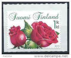 Finlande 2013 N°2190 Neuf Fleurs Roses - Finland