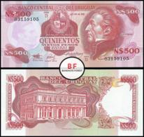 Uruguay   500 Pesos   1991   P.63A   UNC - Uruguay
