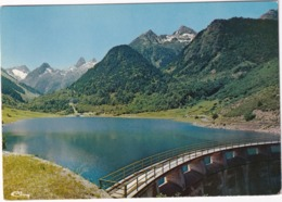Vallée D'Arrens - Le Barrage Et Le Lac Du Tech - (Hte-Pyr.) - Argeles Gazost