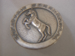 Epingle Pin Broche CHEVAL EQUITATION Societeit Groenendaal - Equitation