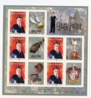 France, Yvert F4025A, Feuille Harry Potter, Autoadhésifs, MNH - Frankreich