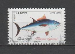 "FRANCE / 2019 / Y&T N° AA 1683 : ""Poissons De Mer"" (Thon Rouge) - Choisi - Cachet Rond - Frankreich"