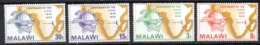 Serie Nº 217/220 Malawi - UPU (Unión Postal Universal)