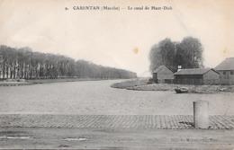 CARENTAN  ( 50 ) - Le Canal Du Haut Dick - Carentan