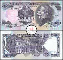 Uruguay   1,000 Pesos   1992   P.64Ab   UNC - Uruguay