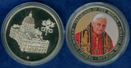 Medaille Benedikt XVI. 2007 40mm - Deutschland