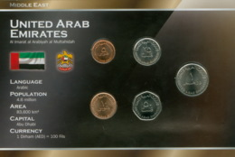 Kursmünzensatz Vereinigte Arabische Emirate - Emirats Arabes Unis