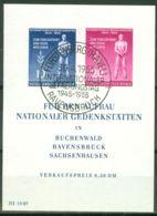DDR Block 11 O Sonderstempel Fürstenberg - DDR