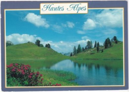 Le Queyras - Hautes Alpes - Le Lac Miroir Ou Des Prés Sebeyrand (2214 M)  - (H.Alpes) - Frankrijk