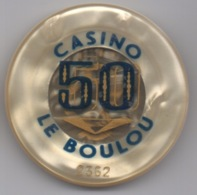 Jeton De Casino Le Boulou 50 Francs - Casino