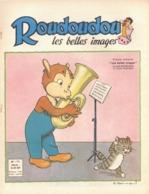 ROUDOUDOU LES PLUS BELLES IMAGES N° 175 NOVEMBRE 1962 UN JEUDI ROUDOUDOU UN JEUDI RIQUIQUI ROUDOUDOU MUSIQUE CHAT - Boeken, Tijdschriften, Stripverhalen