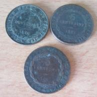 Italie - Royaume De Sardaigne - 3 Monnaies 5 Centesimi 1826 - Piémont-Sardaigne-Savoie Italienne