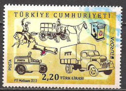 Türkei  (2013)  Mi.Nr.  4030  Gest. / Used  (1fb37)  EUROPA - 1921-... Republic