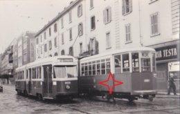 MILANO Foto Di TRAMWAY. Lignes 9 Et 30. Motrice N°4610 Et N°4009 - Milano