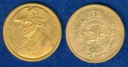 Medaille Friedrich II. 30mm - [ 7] 1949-… : FRG - Fed. Rep. Germany