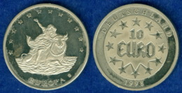 Medaille 10 Euro 1998 30mm - [ 7] 1949-…: BRD