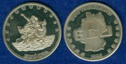Medaille Deutschland ECU 1996 40mm - [ 7] 1949-… : FRG - Fed. Rep. Germany