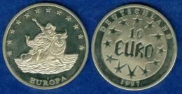 Medaille 10 Euro 1997 40mm - [ 7] 1949-…: BRD
