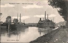 ! Alte Ansichtskarte Biache-Saint-Vaast, Hafen, Quais, Feldpost, 1. Weltkrieg , K.B. Reserve Division, Taufkirchen - Francia