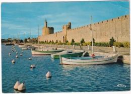 Aigues-Mortes - Les Remparts Ouest, La Poterne Des Remblais, La Tour De Constance, Le Port De Plaisance - Aigues-Mortes