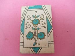 Pt Calendrier De Poche /Couverture Gaufrée à Fleurs Stylisées /1936     CAL455 - Calendriers
